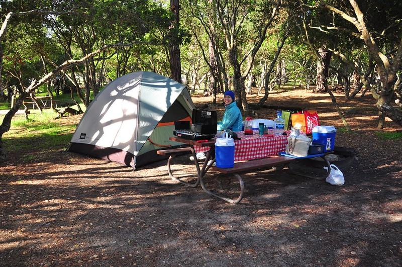 Monterey campsite