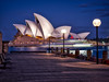Blue hour at The Opera House