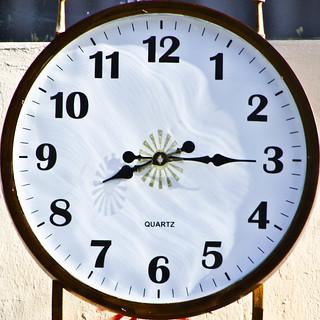 Clock Yoga centre Sackville Street