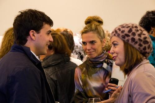 Aitor Agirregabiria, Marta Aguilar y Mercedes de Miguel