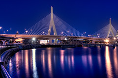 The Leonard P. Zakim Bunker Hill Memorial Bridge