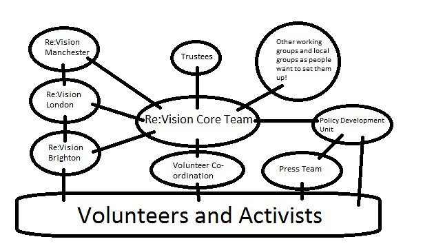 re vision drug policy network structure diagram