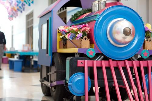 Cute locomotive
