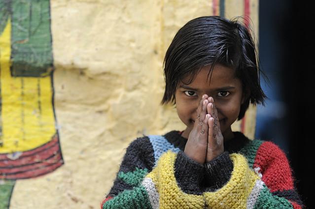 Namaste  This beautiful Namaste Child