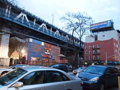 Manhattan Bridge from Below