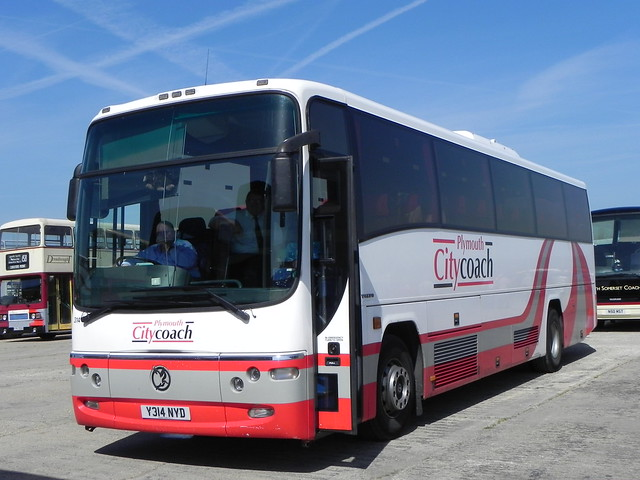 Plymouth Citycoach 314 (Y314 NYD) by B.BPhotos