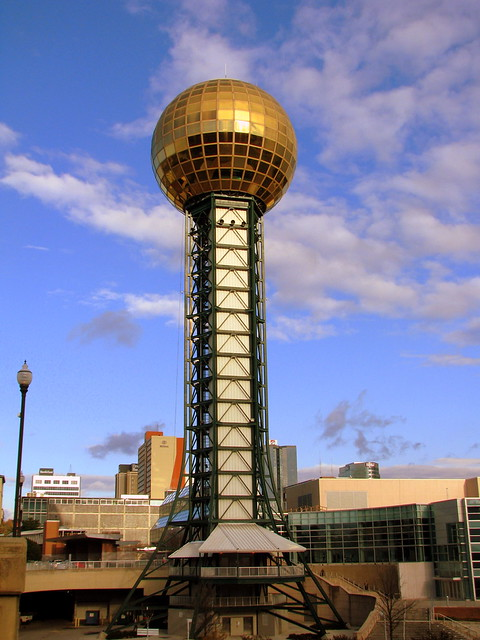 The Knoxville Sunsphere!