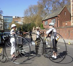 Tweed run April 2011