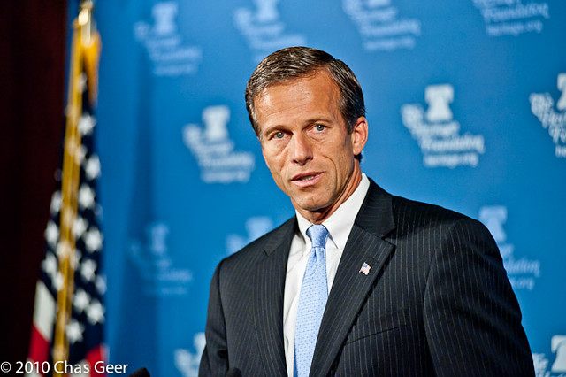 "Senator John Thune speaks about ""Changing How Congress Does Business"""