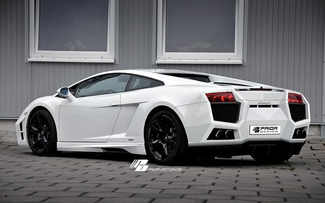 Photo:Prior Design Lamborghini Gallardo Rear-side View By Prior Design NA (priordesignusa.com)