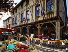Collection Ariège - Grand Site de Midi-Pyrénées (Mirepoix - Marché)
