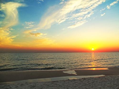 Sunset Cape San Blas, FL