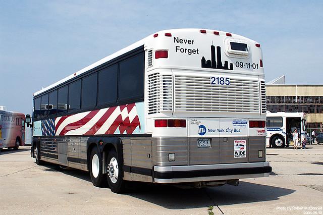 NYCTA 2185 World Trade Center Bus