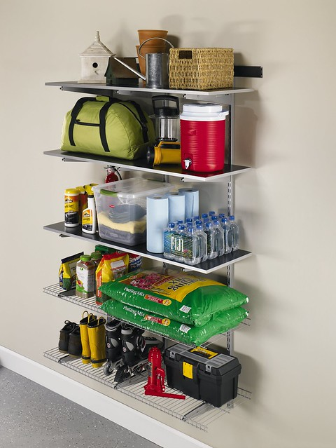 rubbermaid garage organization ideas - Rubbermaid FastTrack Garage Organization System