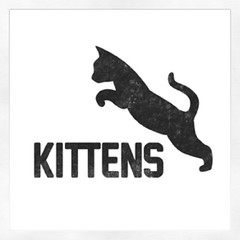 Made a logo for my kickball team, the Kittens...yep