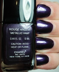 Chanel Metallic Vamp