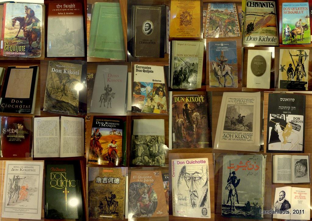 Ejemplares de El Quijote en la Biblioteca Hurtado de Mendoza de Órgiva