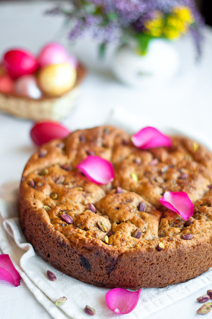 Whole Grain Easter Bread with Rose Jam, Pistachios, Honey … | Flickr ...