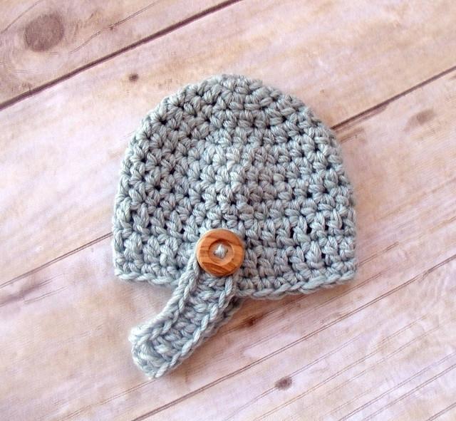 PATTERN Crochet Beehive Beanie