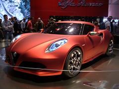family car(0.0), ferrari california(0.0), alfa romeo 8c competizione(0.0), automobile(1.0), automotive exterior(1.0), alfa romeo(1.0), exhibition(1.0), vehicle(1.0), automotive design(1.0), auto show(1.0), concept car(1.0), land vehicle(1.0), luxury vehicle(1.0), supercar(1.0), sports car(1.0),