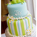 Pea Pod Baby Shower Cake