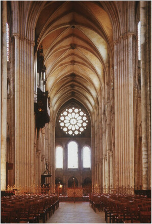 Chartres Cathedral interior