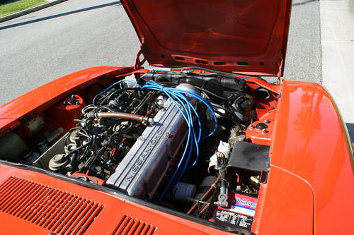 1977 Datsun 280z Engine Compartment Wiring