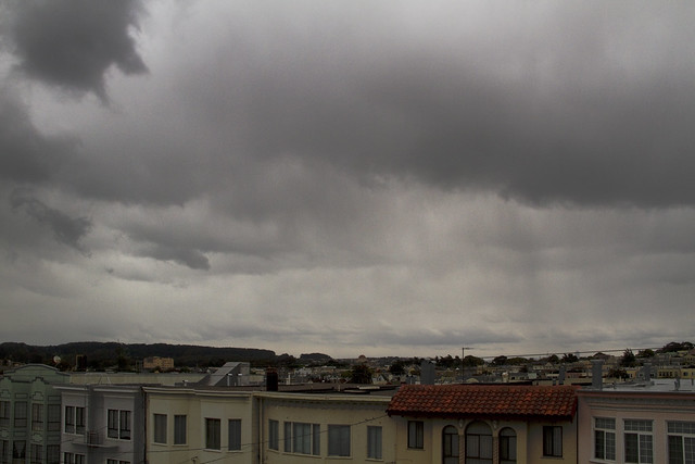Raining in the The Richmond, San Francisco (2011)
