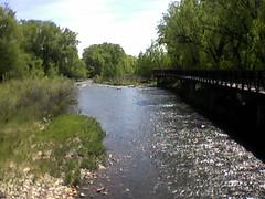 Poudre River at LaPorte