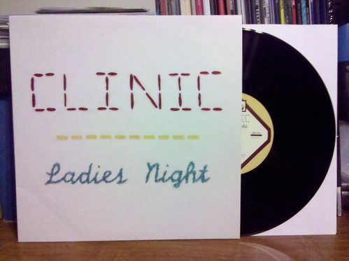 Record Store Day Haul #12 - Clinic - Ladies Night 10""