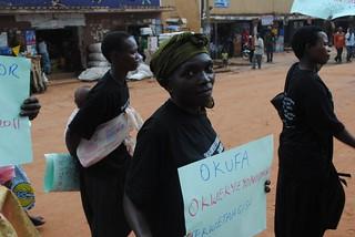 Health protester 3 KC Sharifah Nabukenya