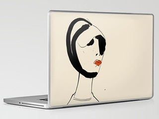 Fashion Head | Laptop & iPad Skin