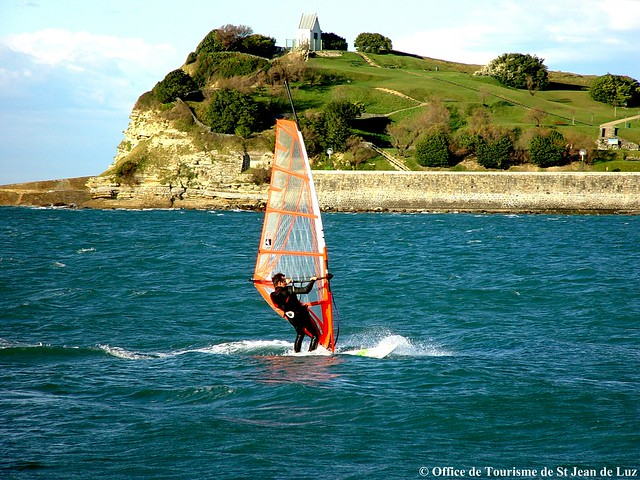 Planche a voile office de tourisme de st jean de luz flickr photo sharing - Office tourisme saint jean de luz ...