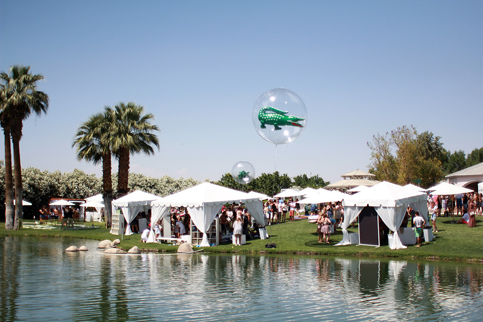 Lacoste Live #livebeautifully coachella 2014 party