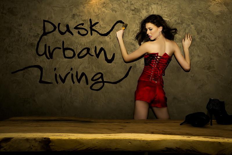 Dusk Urban Living