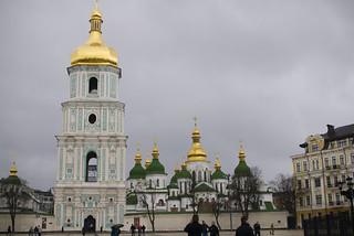 Attēls no Saint Sophia Cathedral pie Kiev. travel saint geotagged cathedral ukraine kiev sophia ukrain saintsophiacathedral