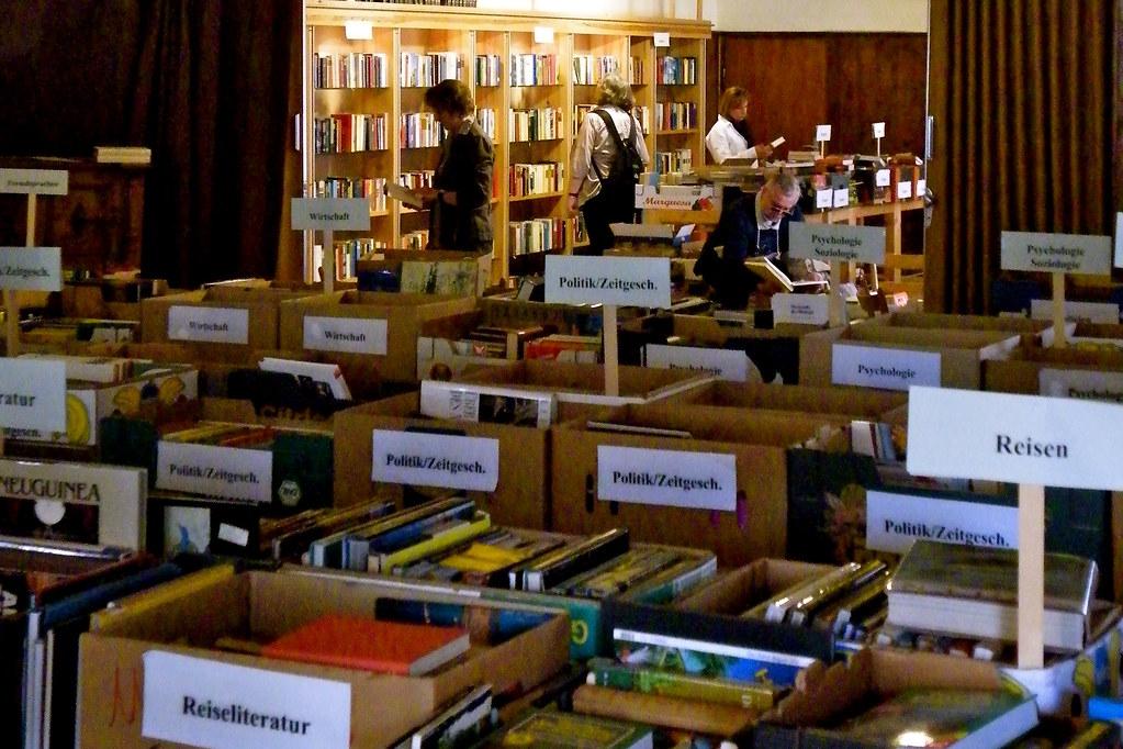 Büchermarkt in Zeilitzheim