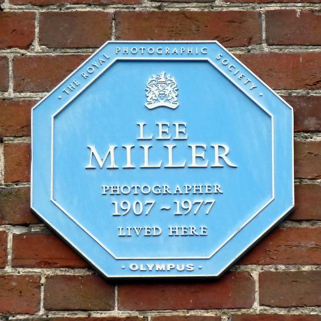 Photo of Lee Miller blue plaque