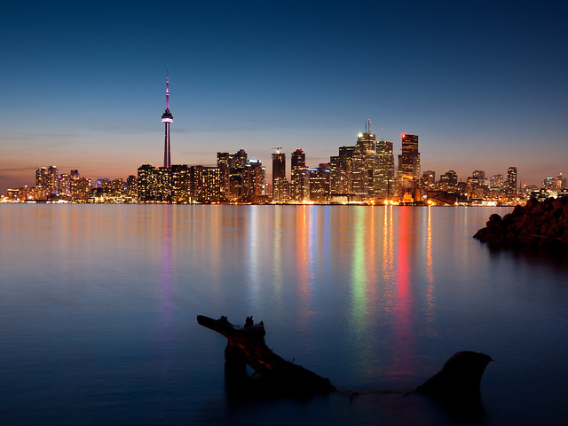 Blue Hour, Toronto Skyline