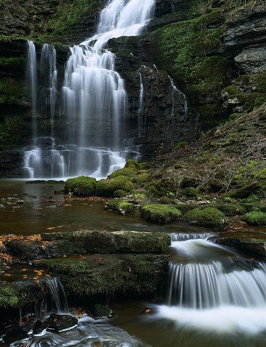 uk waterfall force yorkshire dales scalaber