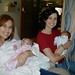 <p>The twins, Janie and Reed, were about 6 weeks old in this photo.</p>