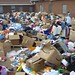<p>there was nowhere to put the donations after Hurricane Katrina.</p>