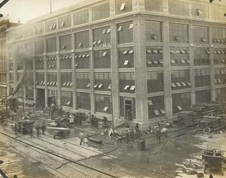 Flood Repair, Dayton, OH - 1913 Flood
