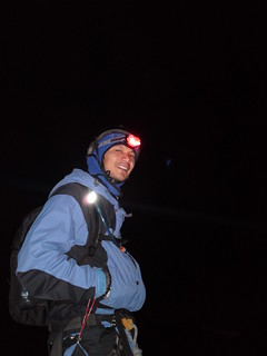 Ice climbing in the night II