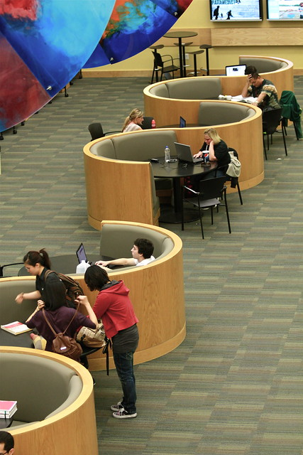 UVU Library Cafe Seating Flickr Photo Sharing