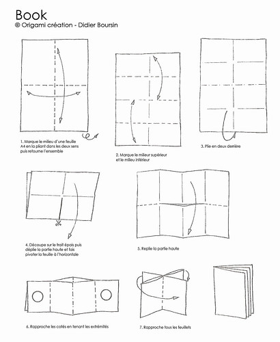 Origami création - Didier Boursin - Diagramme Book