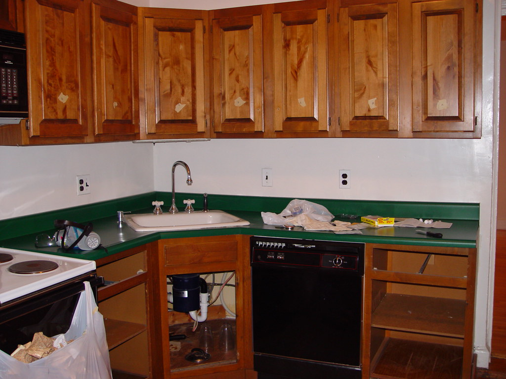 Inexpensive Kitchen Makeover Transforming Cabinets With Paint