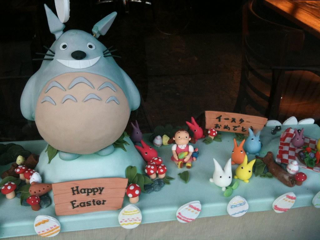 Happy Totoro Easter!