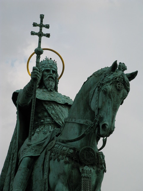 Saint Stephen I of Hungary Statue