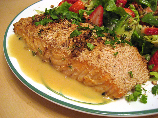 Pecan Crusted Salmon | Flickr - Photo Sharing!